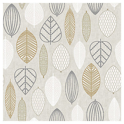 Image for Superfresco Easy Scandi Leaf Copper Wallpaper from StoreName