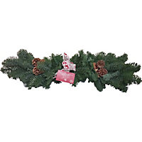 Decorated Mantle - Red
