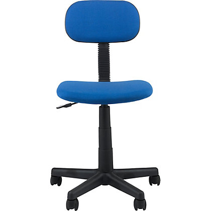 Image for Gas Lift Swivel Office Chair - Blue from StoreName