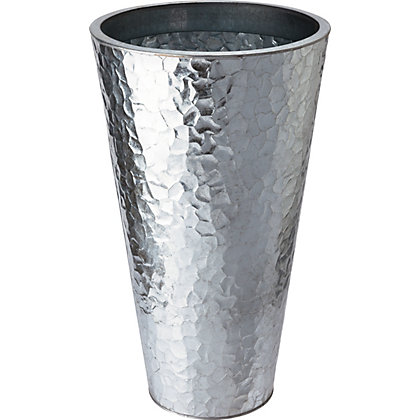 Image for Marrakech Garden Planter in Silver - 35cm from StoreName