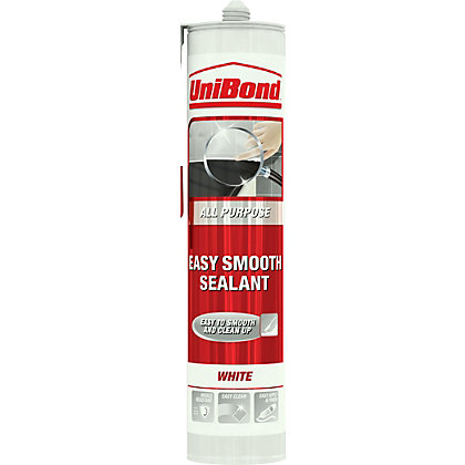 Image for UniBond All Purpose Easy Smooth Sealant - White - 300ml from StoreName