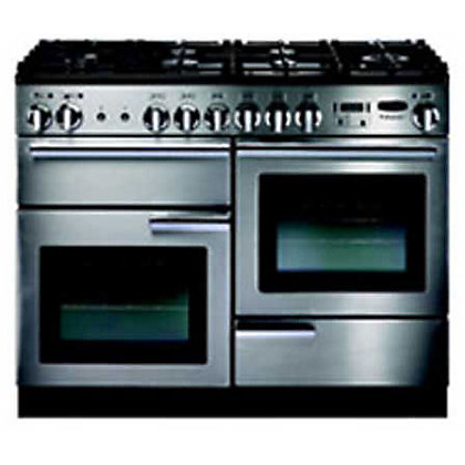 Image for Rangemaster Professional Plus Natural Gas Cooker - Silver from StoreName
