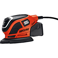 Black and Decker Compact Mouse Sander - 55W