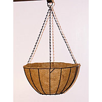 Hanging Basket with Coco Liner - 35cm