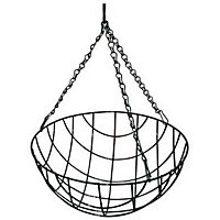 Value Wire Hanging Basket - 30cm