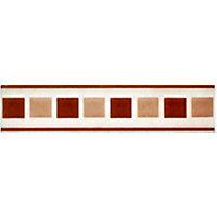 Christy Beige Contemporary Border - 5 x 20cm