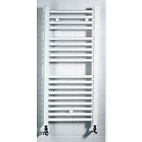 Torino Heated Towel Rail - White 1646 x 550mm