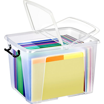 Image for Smart Storemaster 40L Storage Box with Lid from StoreName