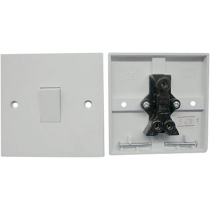 Image for Value One Gang Two Way Switch 2 x Pack - White from StoreName