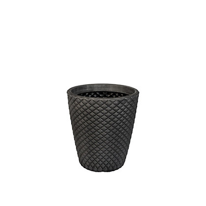 Image for Geometric Pewter Planter from StoreName