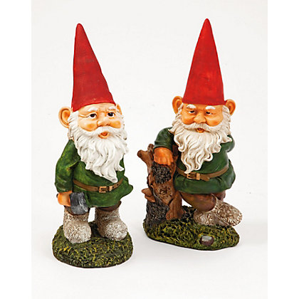 Image for Garden Gnome Ornament - 4 Designs Available from StoreName