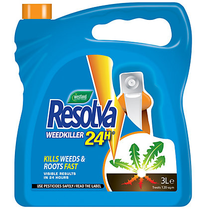 Image for Resolva 24h Ready To Use Weed Killer - 3L from StoreName