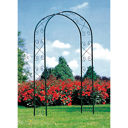 Image for Sprout Decorative Steel Garden Arch from StoreName
