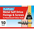 Plasplugs Metal Self Drive & Screws