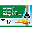 Plasplugs Hollow Door & Screws