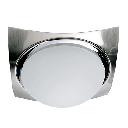 Image for Texas Flush Light - Satin Nickel from StoreName