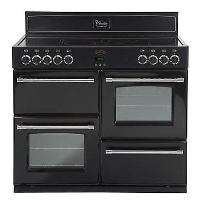 Image for Belling Classic 110E Electric Range Cooker - Black from StoreName