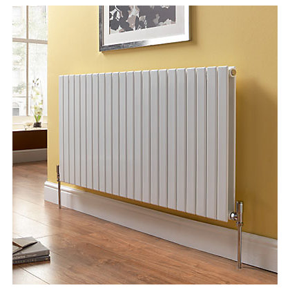 Image for Vicenza Double Radiator - 559mm x 600mm - White from StoreName