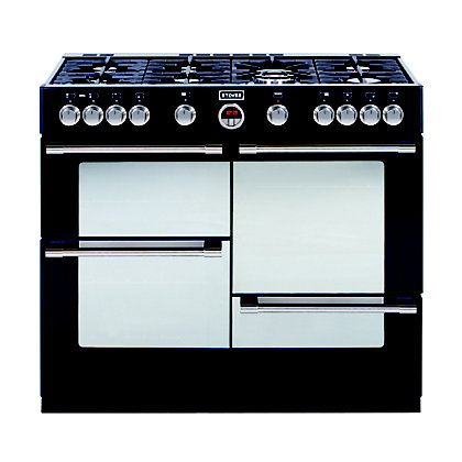 Image for Stoves Sterling R1100GT Gas Range Cooker - Black. from StoreName