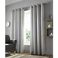 Echo Duck Egg Eyelet Curtains 66x54in