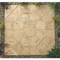 Stylish Stone Belfrey Octagon Kit 2.3m - Autumn Brown