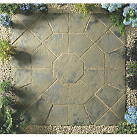 Stylish Stone Belfrey Octagon Kit 2.3m - Rustic Sage