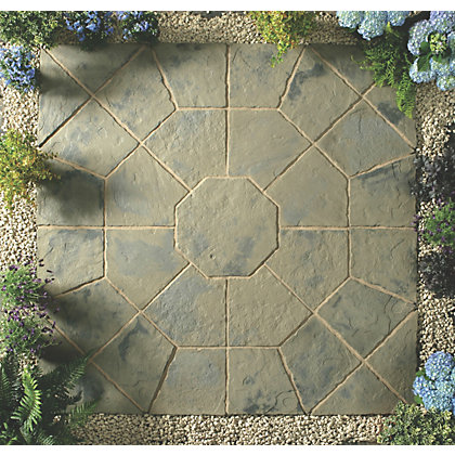 Image for Stylish Stone Belfrey Octagon Kit 2.3m - Rustic Sage from StoreName