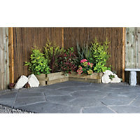 Stylish Stone Belfrey Octagon Kit 2.3m - Graphite