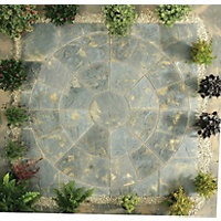 Stylish Stone Chantry Circle Kit 2.4m - Antique
