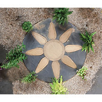 Stylish Stone Chantry Petal Circle 1.8m