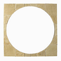 Stylish Stone Chantry Circle Squaring Off Kit 2.4m - York Gold