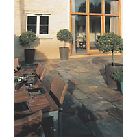 Stylish Stone Natural Slate 5.5sq m - Rustic Bronze