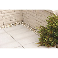 Stylish Stone Cambridge Textured Paving 450 x 450mm - Full Pack - Storm