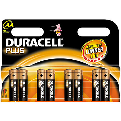 Image for Duracell Plus AA Batteries - 8 Pack from StoreName