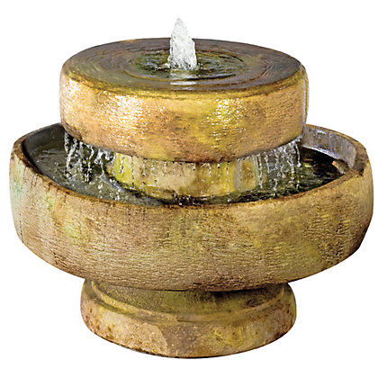 Image for Stylish Fountains Henri Millstone Fountain including Light - Relic Sargasso from StoreName