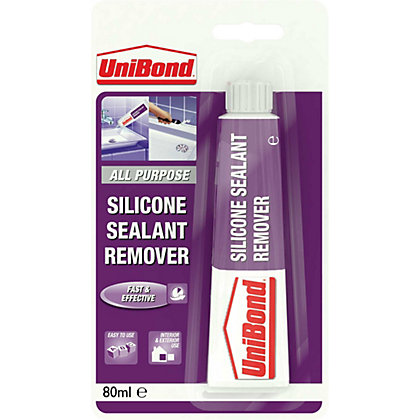 Image for UniBond Silicone Sealant Remover Tube - 80ml from StoreName