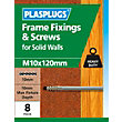 Plasplugs Frame Fixings M10 x 115mm - Pack of 16