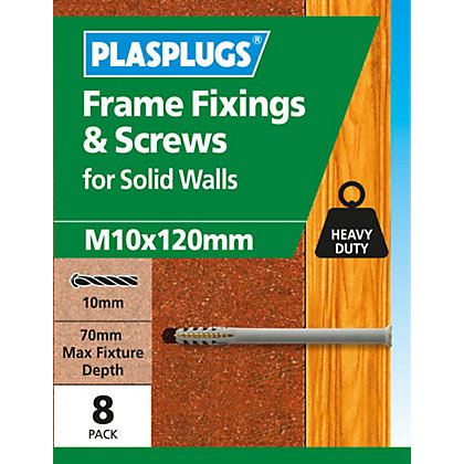 Image for Plasplugs Frame Fixings M10 x 115mm - Pack of 16 from StoreName
