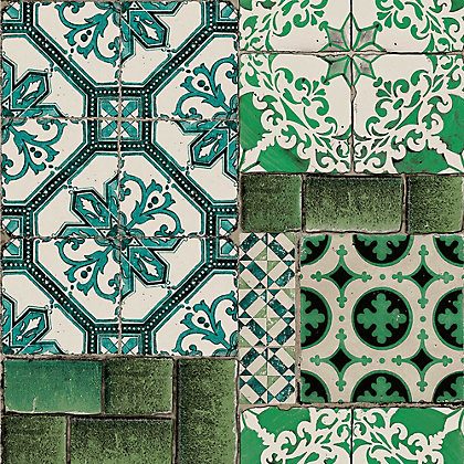 Image for Superfresco Easy Portuguese Tile Wallpaper from StoreName