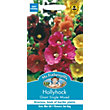 Hollyhock Giant Single Mixed (Alcea Rosea) Seeds
