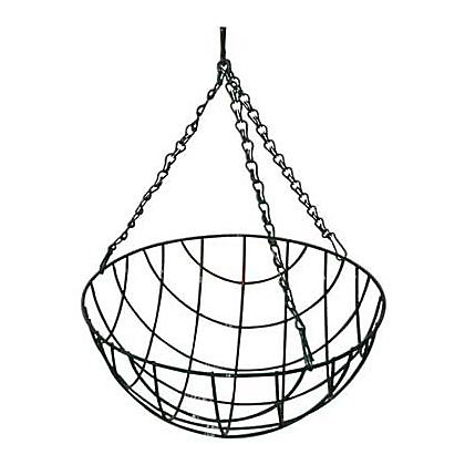 Image for Value Wire Hanging Basket - 30cm from StoreName