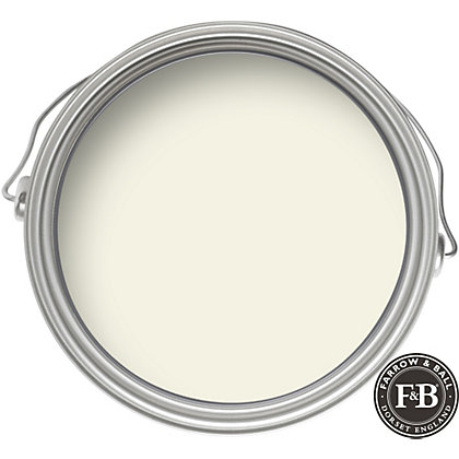 Image for Farrow & Ball No.2010 James White - Exterior Eggshell Paint - 2.5L from StoreName