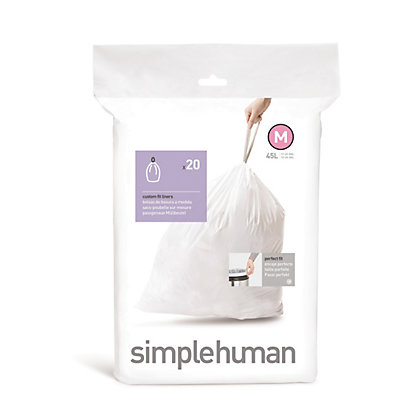 Image for Simplehuman Bin Liner Size Code M - 20 Pack from StoreName