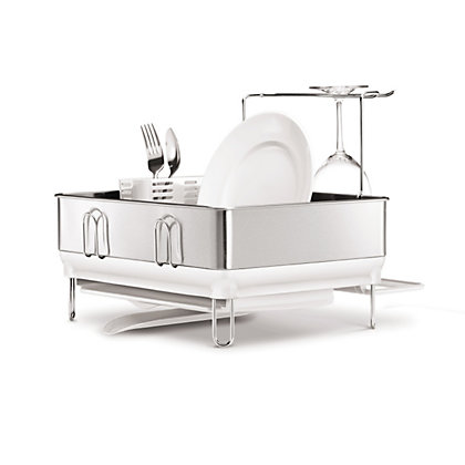 Image for Simplehuman Steel Frame Compact Dishrack from StoreName