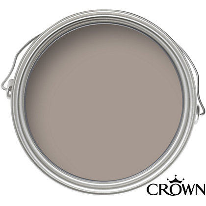 Image for Crown Breatheasy Standard Crushed Chocolate - Matt Emulsion Paint - 40ml from StoreName