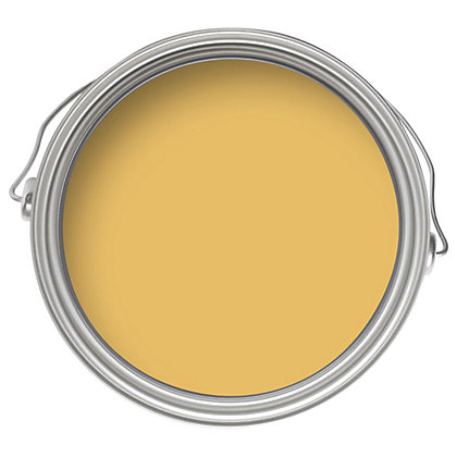 Image for Crown Breatheasy Standard Mustard Jar - Matt Emulsion Paint - 2.5L from StoreName
