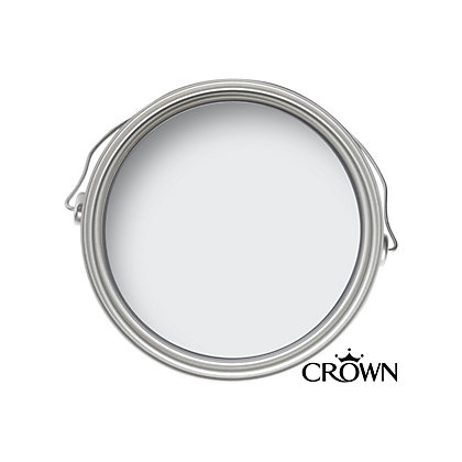 Image for Crown Standard Breatheasy Clay White - Non Drip Satin Paint - 750ml from StoreName