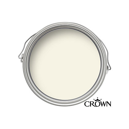 Image for Crown Standard Breatheasy Stone White - Non Drip Satin Paint - 750ml from StoreName