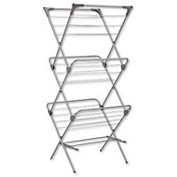 3 Tier Silver Laundry Airer