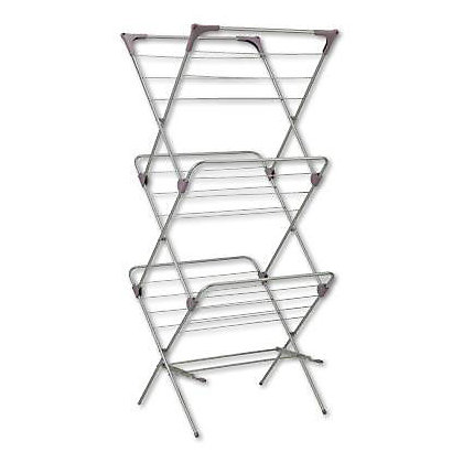 Image for 3 Tier Silver Airer from StoreName